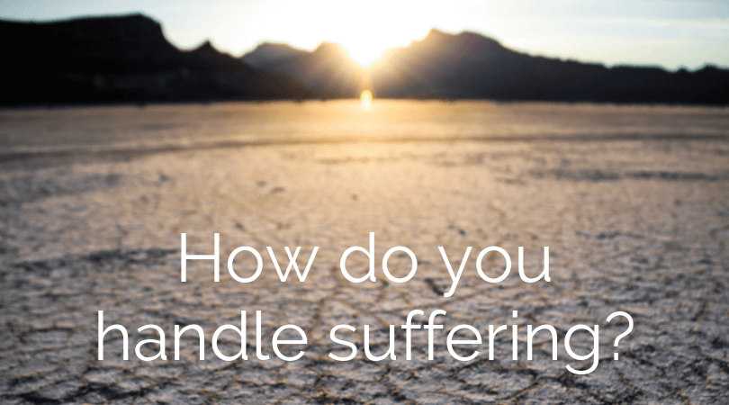 No one looks forward to suffering, especially unjust suffering, yet, if it does come your way, you need to know that how you handle it matters.